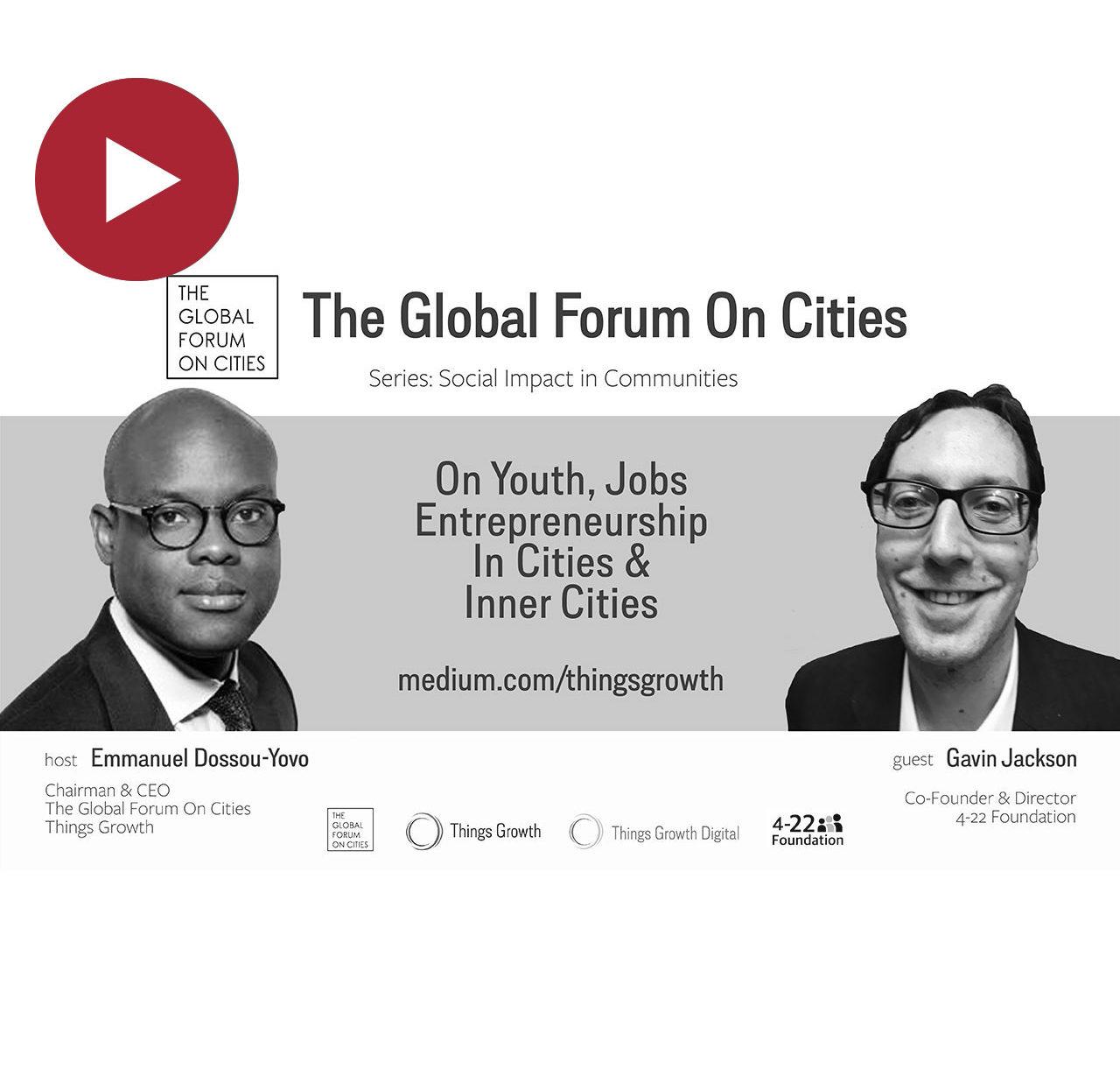 Social Impact, Gavin Jackson, Co-Founder, 4–22 Foundation (UK)